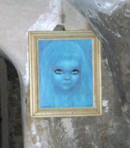 Ritratto di Azzurrina - fantasmi