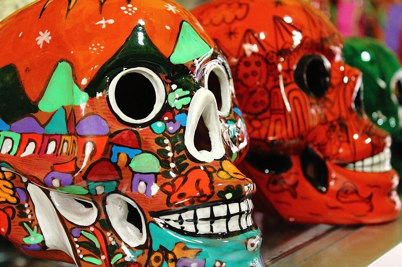 Teschi colorati Messico