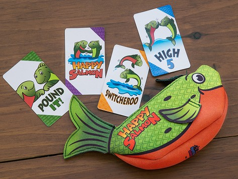 Giochi da viaggio: Happy Salmon