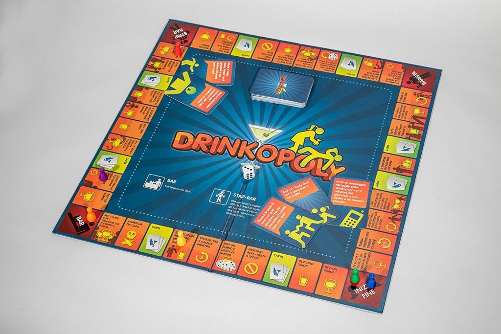 Drinkopoly: party games per Natale e Capodanno