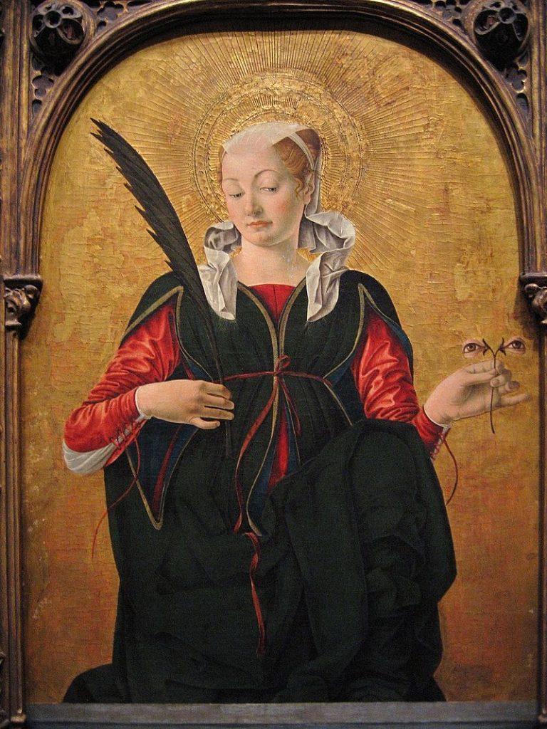 Santa Lucia, Francesco del Cossa (1472)