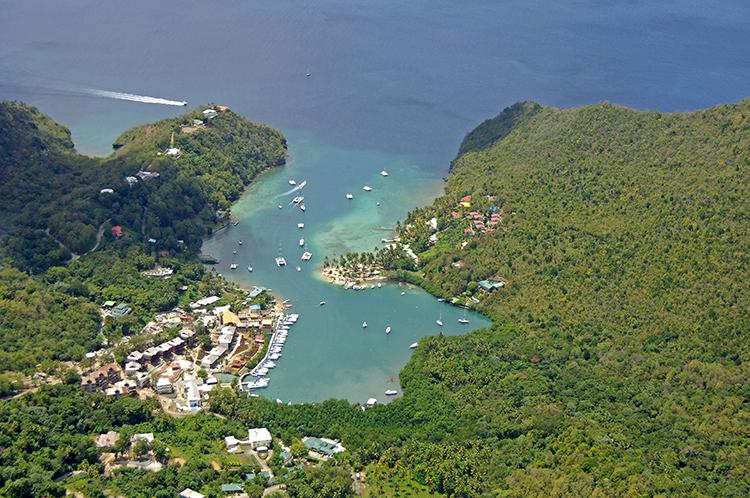 Saint Lucia: Marigot Bay