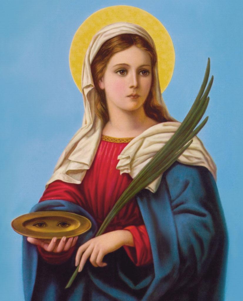 Santa Lucia Iconografia classica