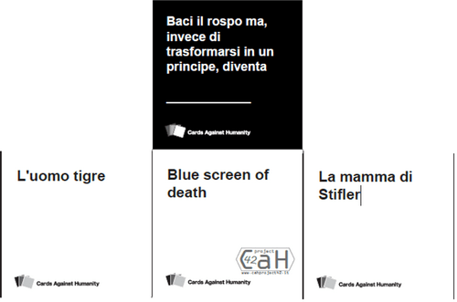 Cards Against Humanity: party game per Natale e Capodanno