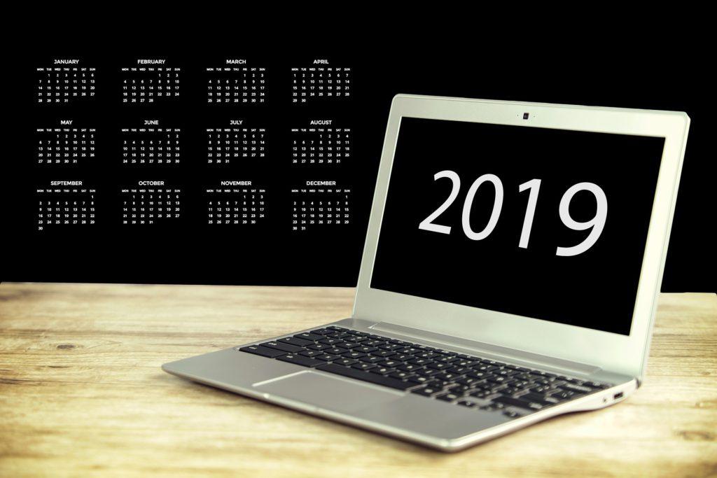 tutti i numeri del 2019
