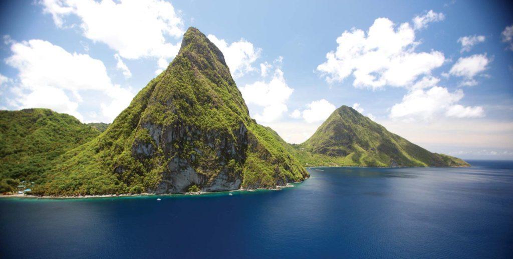 Saint Lucia: Gros e Petit Piton