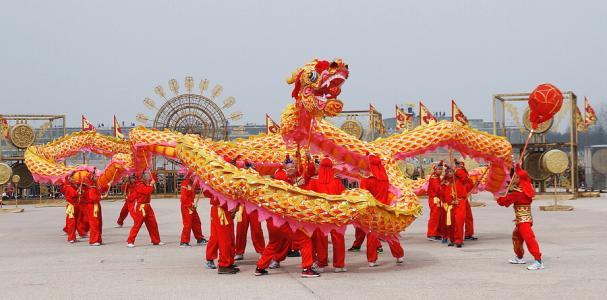Capodanno cinese -Danza del drago