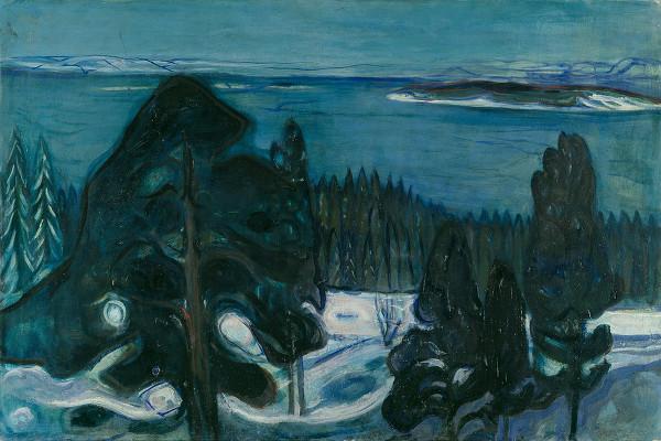 "ALT=""Notte d'inverno Munch"""