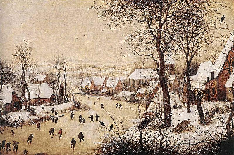 """ALT=""""Paesaggio invernale di Bruegel"""" - L'inverno attraverso l'arte"""