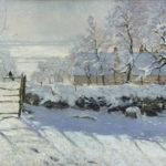 L'inverno attraverso l'arte tra Munch, Goya e Monet