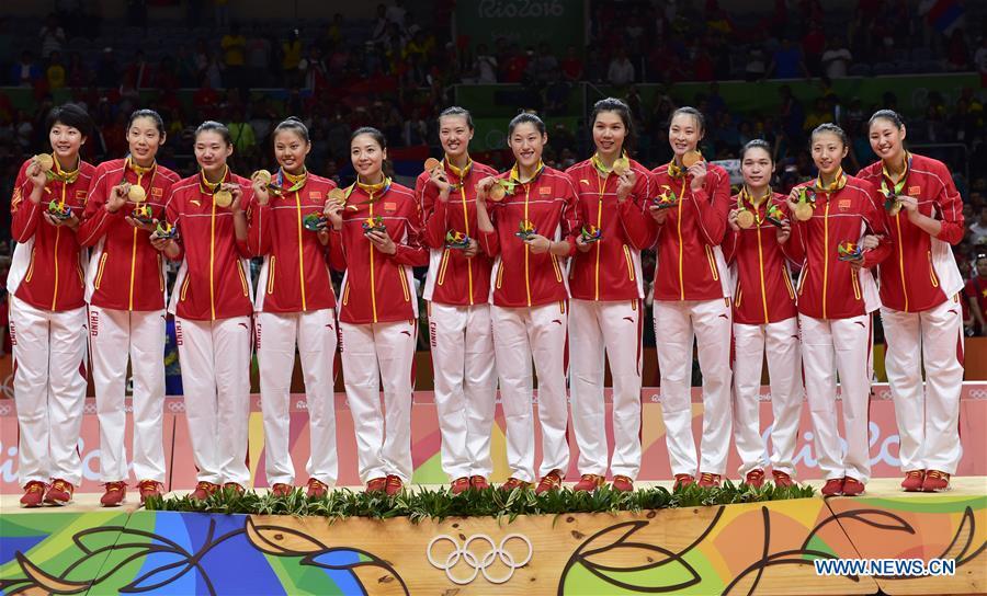 Sport in Cina - Nazionale cinese di Pvolley alle olimpiadi del 2016