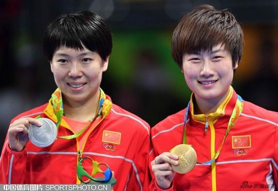 Sport in Cina - Tennistavolo alle olimpiadi