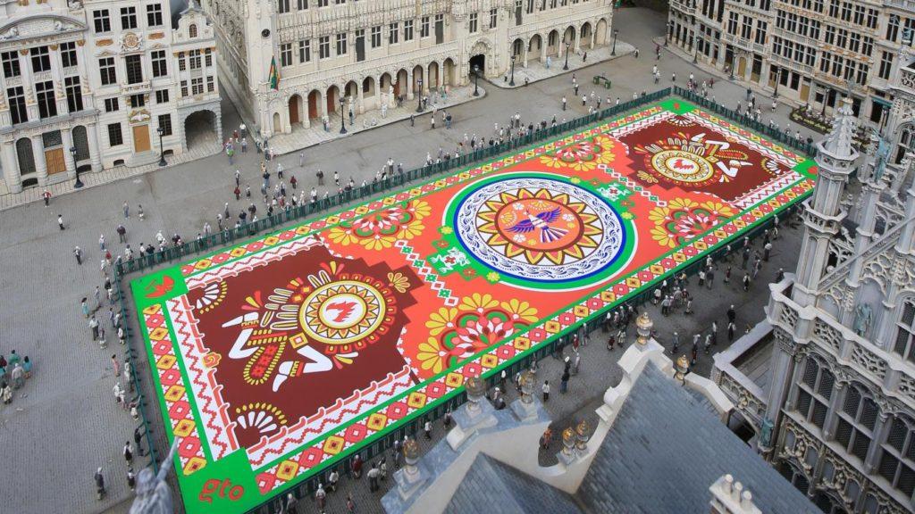 Tapis de Fleurs Bruxelles