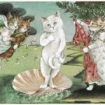 I gatti nell'arte: Susan Herbert e le sue rivisitazioni