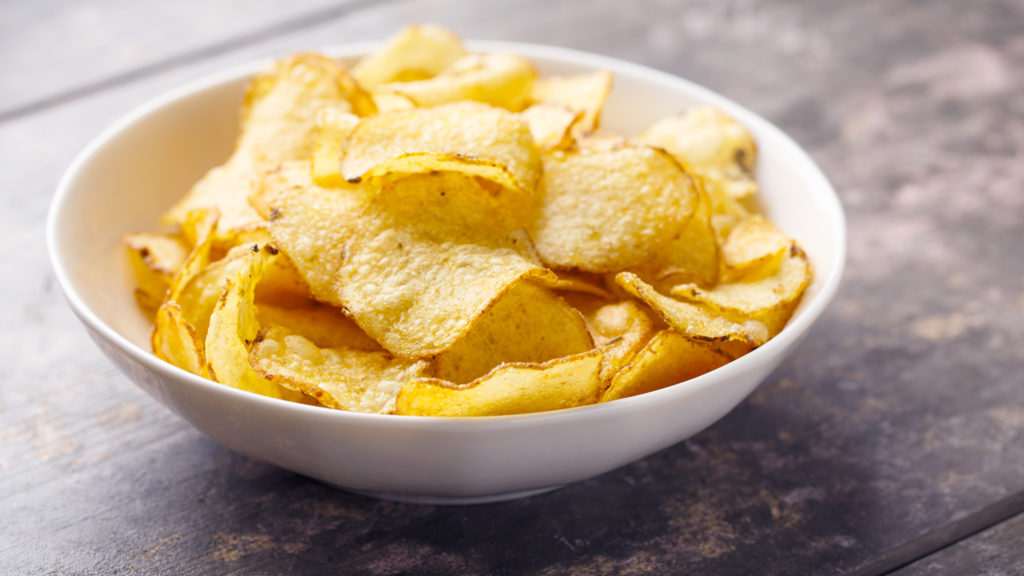 chips patatine fritte