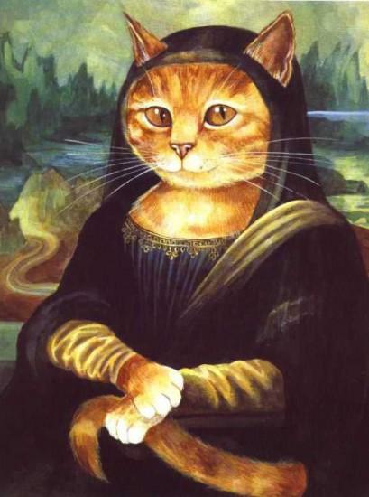 "I gatti di Susan Herbert: ""La Monnalisa"""