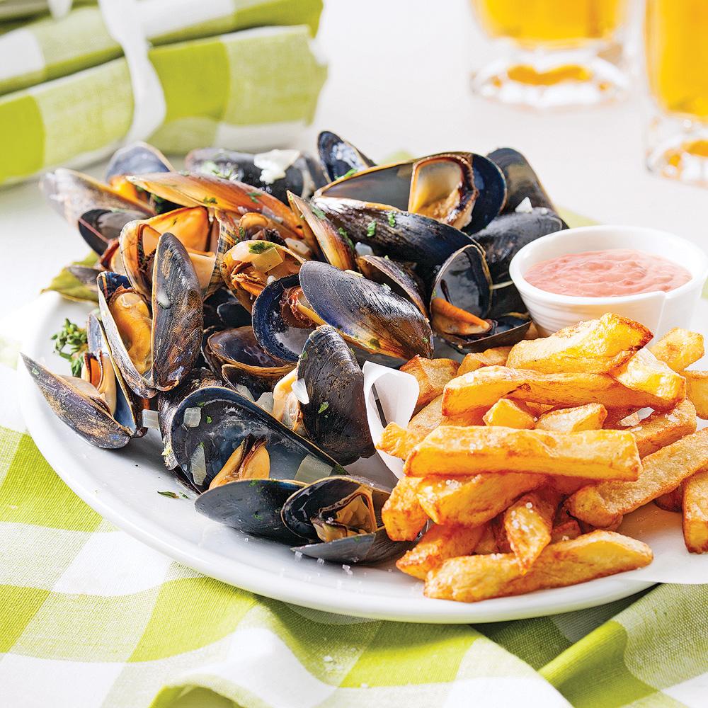 Moules et Frites: piatto tipico belga