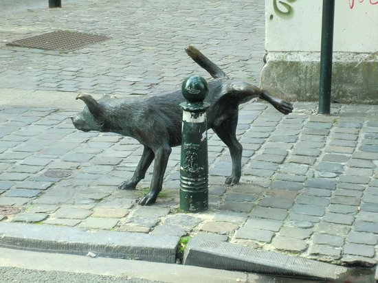 Zinneke Pis a Bruxelles