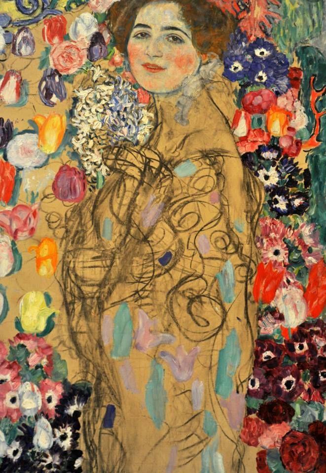 """""""Ritratto di Ria Munk numero III"""", Gustave Klimt, 1918."""