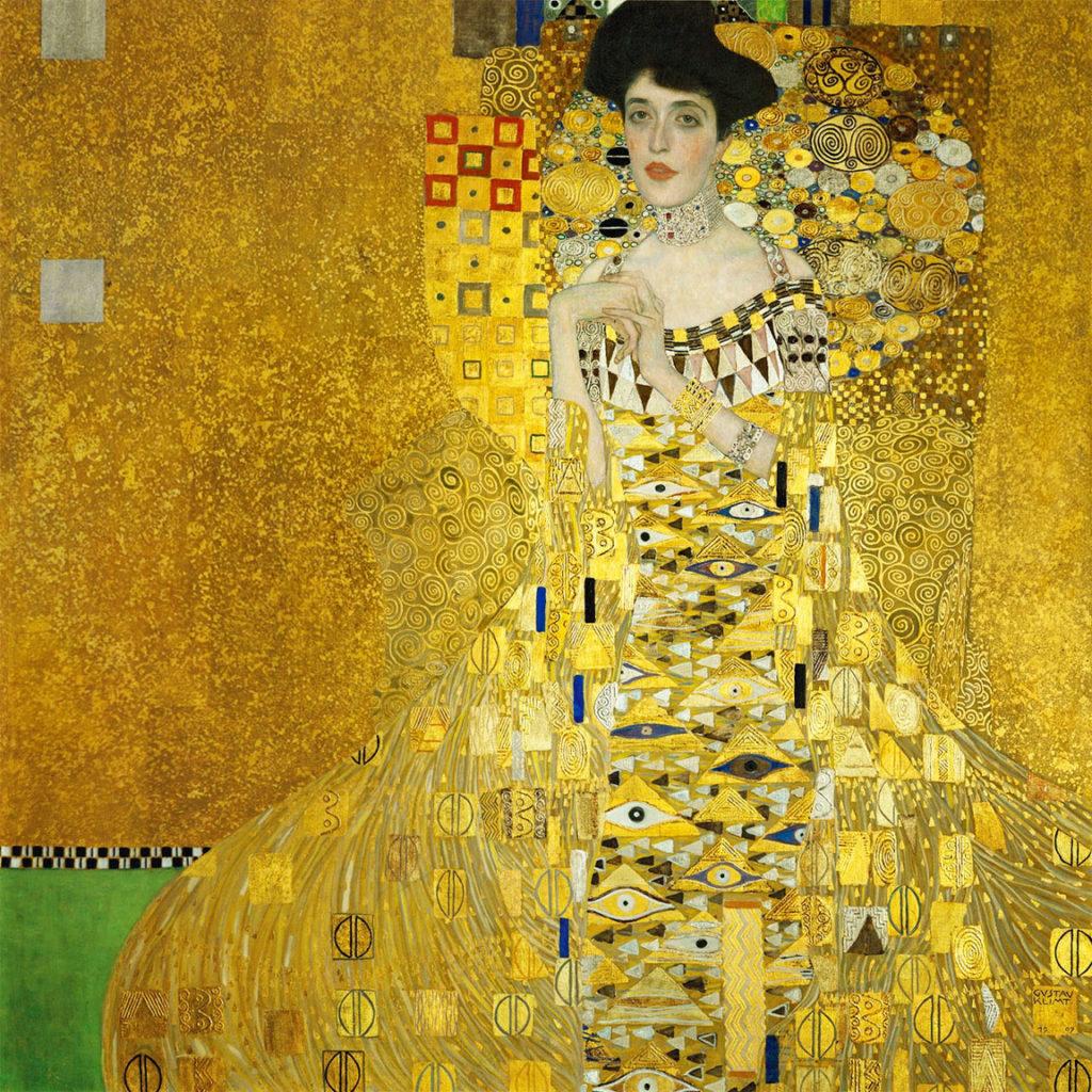 Gustave Klimt - Ritratto di Adele Bloch