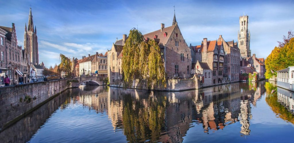 Bruges: i canali