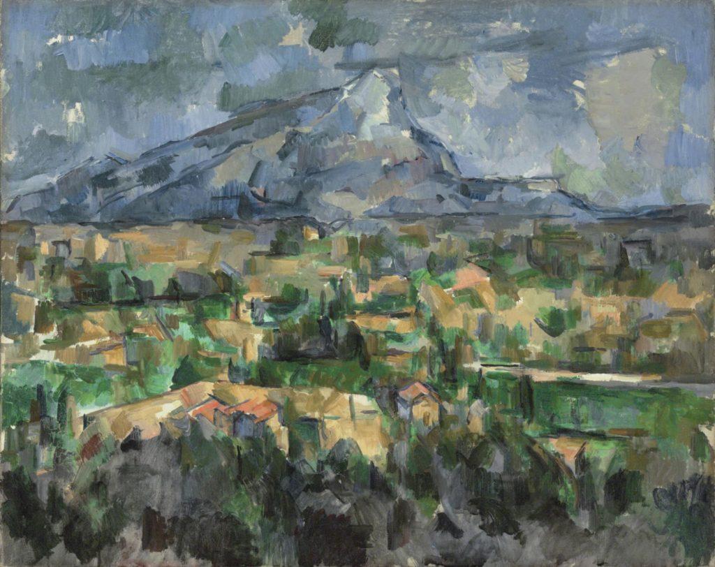 """ALT= """"arte incompiuta - """"La Montagne Sainte Victoire"""" - Cezanne"""""""