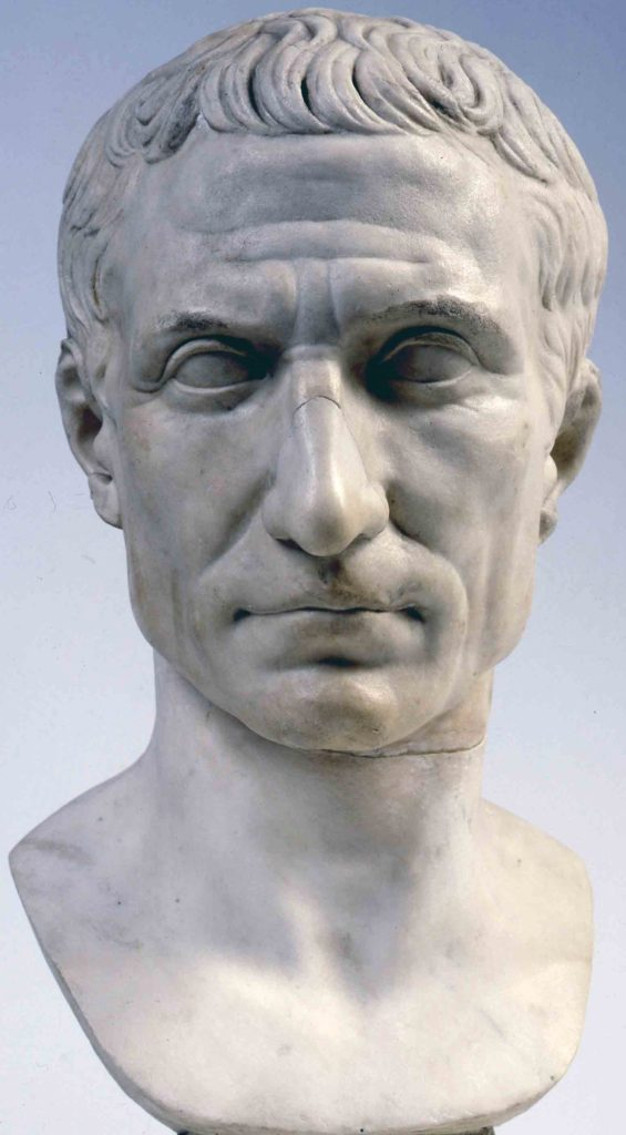 Busto di Giulio Cesare - Musei Vaticani