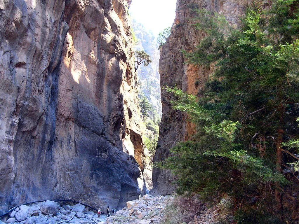 Gola di Samaria Creta