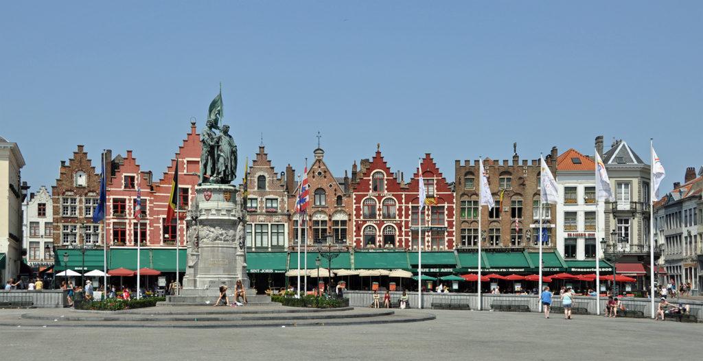 Grote Markt a Bruges