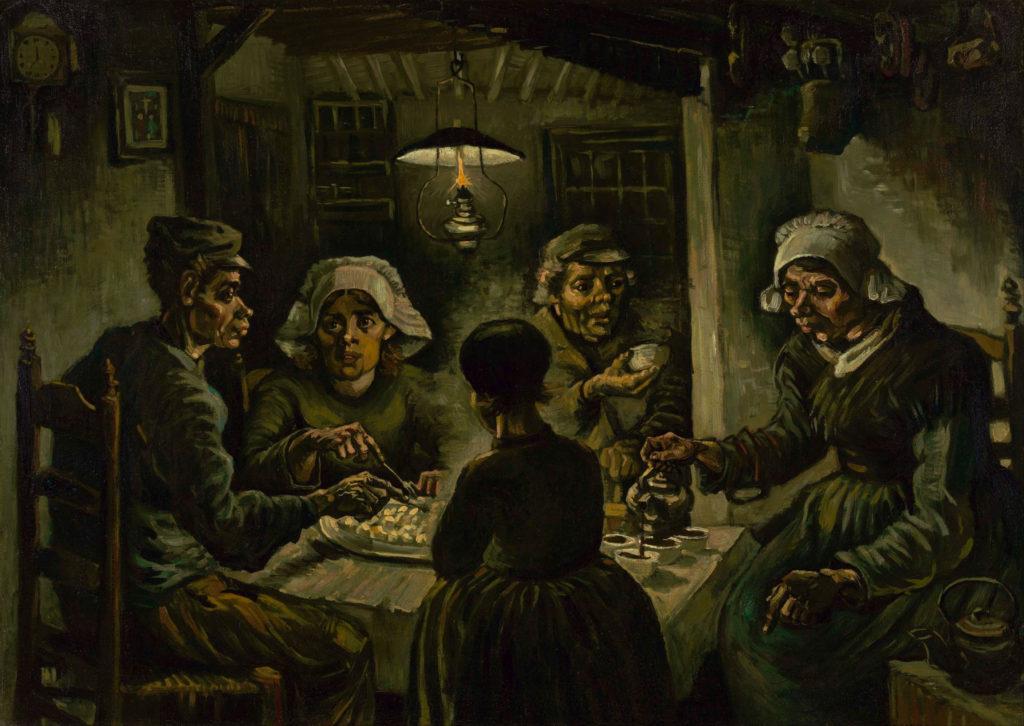 I mangiatori di patate - Vincent Van Gogh