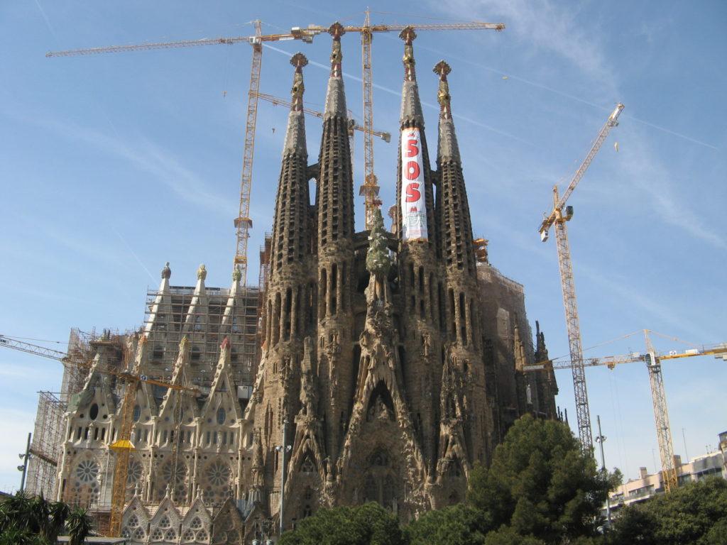 arte incompiuta Sagrada Familia