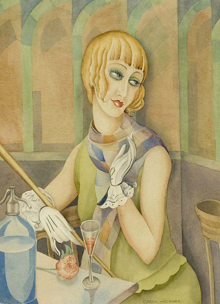 Lili Elbe by Gerda Wegener