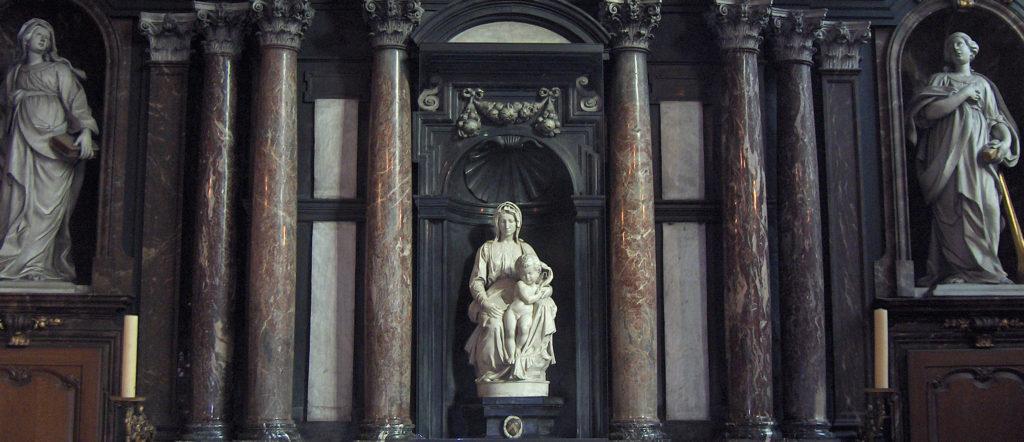 Madonna di Bruges, Michelangelo