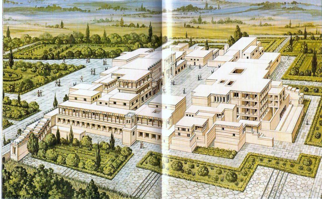 Palazzo di Cnosso, Creta