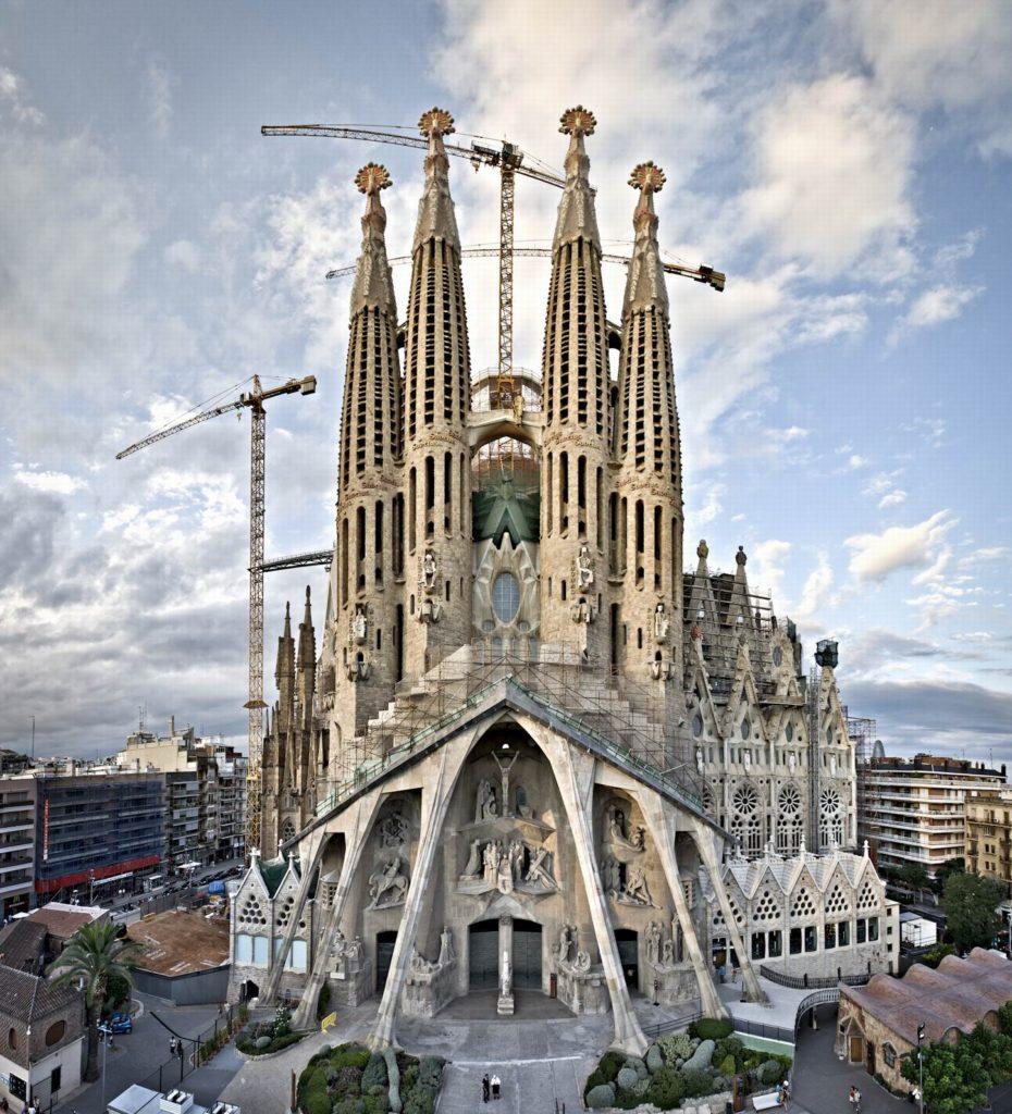 "ALT=""arte incompiuta - sagrada familia - Gaudì"""