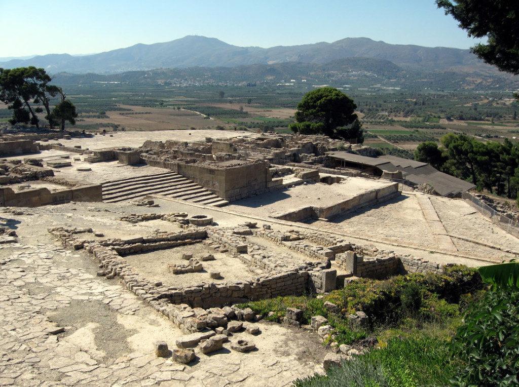 Sito di Festo, Creta