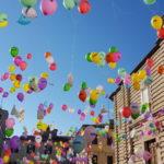 Palloncini colorati: un tragico destino