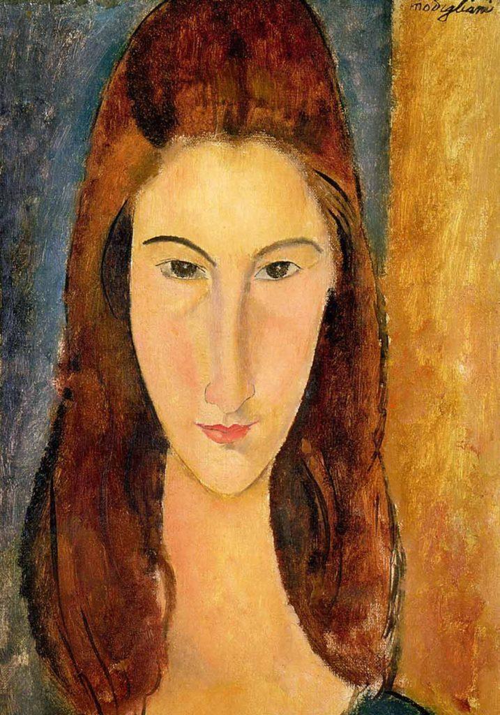 Ritratto frontale di Jeanne Hébuterne, Amedeo Modigliani