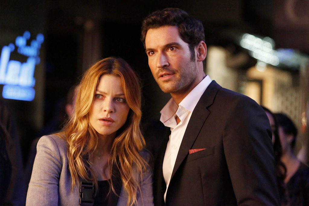 Chloe Decker e Lucifer Morningstar