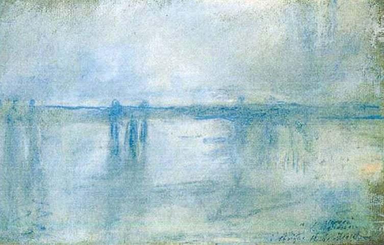 "ALT=""Furti d'arte Monet - ""Ponte di Charing Cross"""""