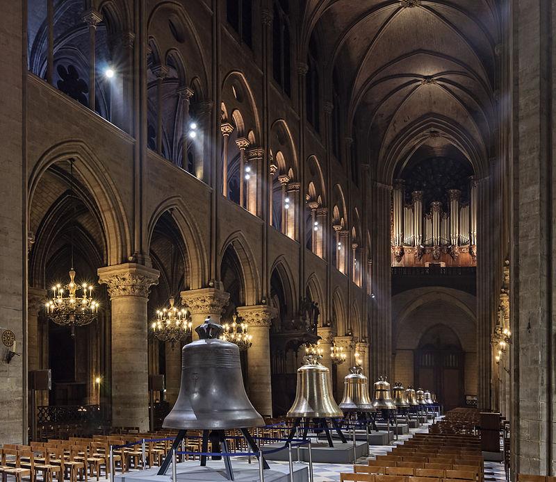 """ALT=""""Notre Dame de Paris campane"""""""