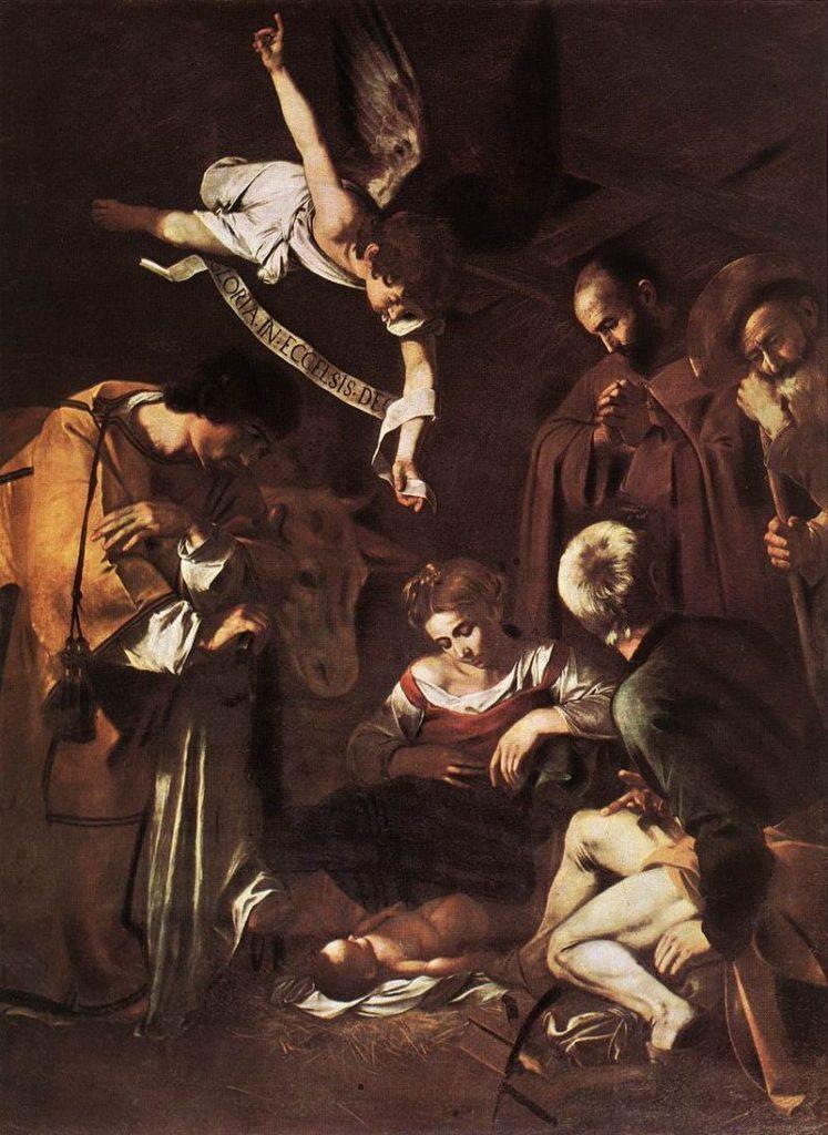"""ALT=""""Furti d'arte Natività di Caravaggio"""""""