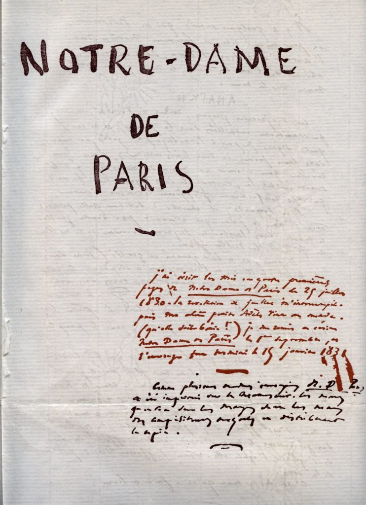 """ALT=""""Notre Dame de Paris Victor Hugo"""""""