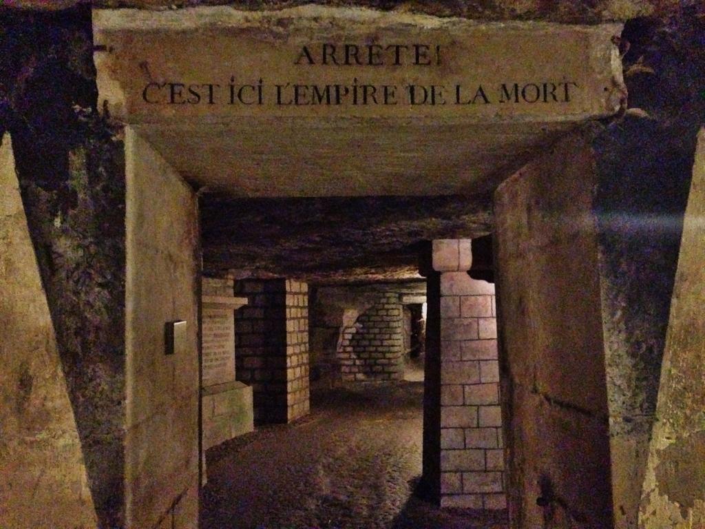 Accesso alle Catacombe di Parigi