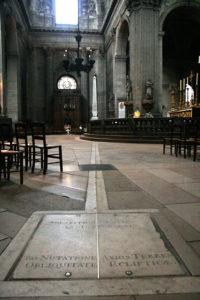 Meridiana in Saint Sulpice