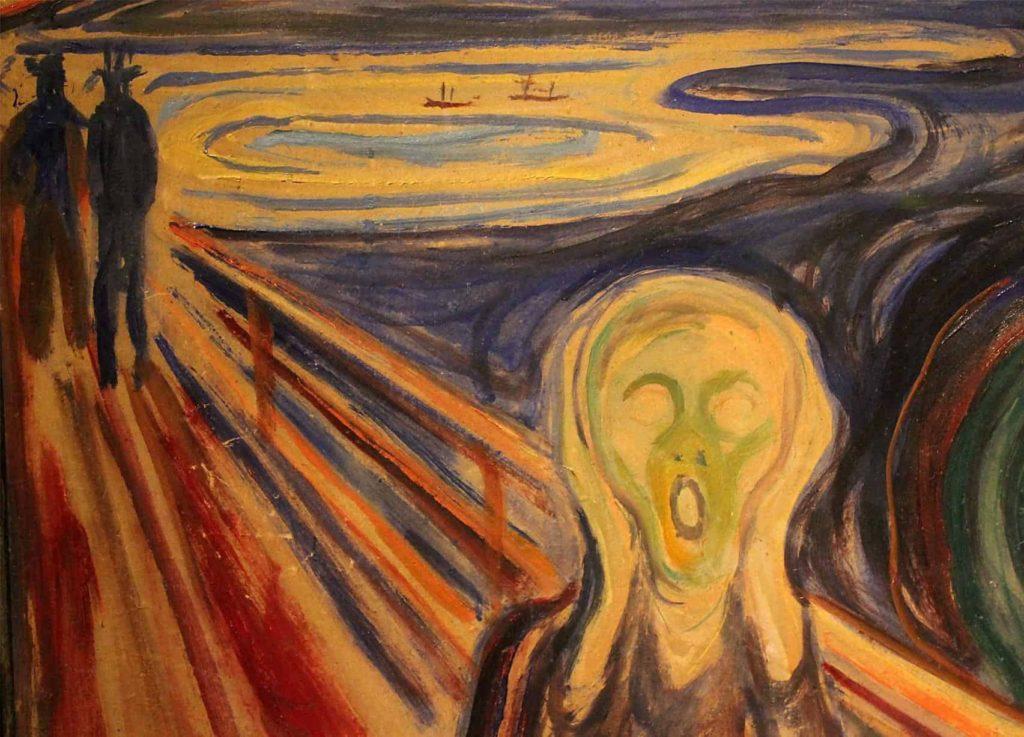 """ALT=""""Furti d'arte L'urlo di Munch"""""""