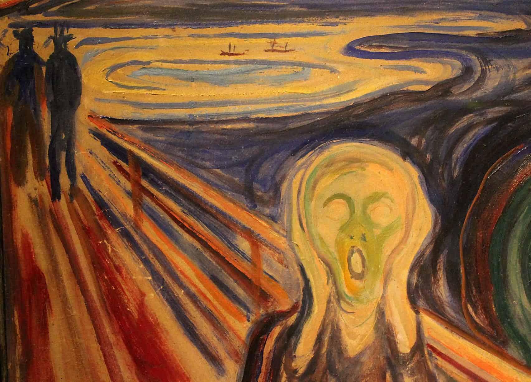 Furti d'arte L'urlo di Munch