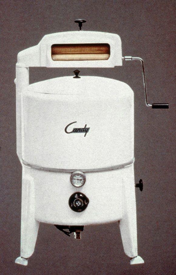 Elettrodomestici - Lavatrice Candy A 50, 1946