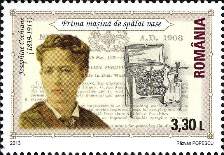 Francbollo commemorativo Josephine Cochrane
