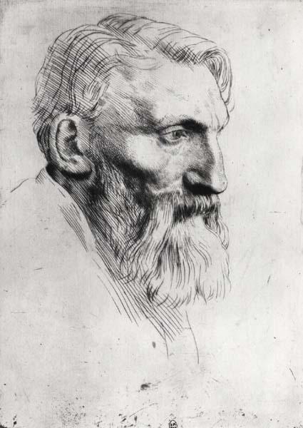ritratto di Auguste Rodin